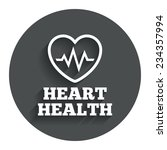 heartbeat sign icon. heart...