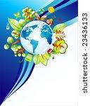 recycling world concept... | Shutterstock . vector #23436133