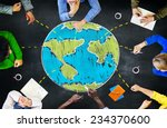 world global ecology... | Shutterstock . vector #234370600