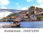 Bridge Maria Pia And Douro...