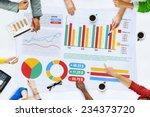 business people meeting... | Shutterstock . vector #234373720