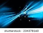 abstract blue elegant... | Shutterstock . vector #234378160