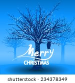 vector illustration. christmas... | Shutterstock .eps vector #234378349