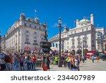 london  uk   may 14  2014 ... | Shutterstock . vector #234407989