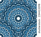 seamless oriental pattern.   Shutterstock .eps vector #234413398