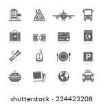 vacation icons | Shutterstock .eps vector #234423208