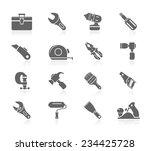 hand tools   Shutterstock .eps vector #234425728