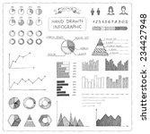 set of doodles business... | Shutterstock .eps vector #234427948