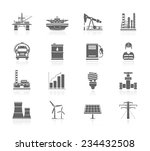 industry and energy icons | Shutterstock .eps vector #234432508