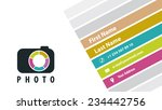 business card photographer | Shutterstock .eps vector #234442756