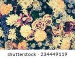Vintage Old Flower Backgrounds  ...