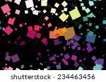 eps10 file. seamless retro... | Shutterstock .eps vector #234463456