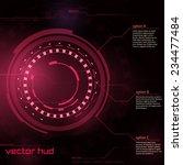 sci fi futuristic user...   Shutterstock .eps vector #234477484