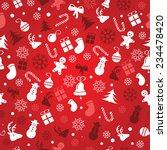 christmas background  seamless... | Shutterstock .eps vector #234478420
