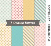 set of geometric patterns with... | Shutterstock .eps vector #234481003