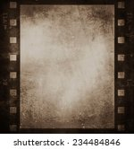 grunge film strip background | Shutterstock . vector #234484846
