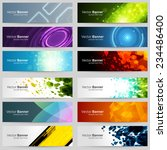 business banners set for... | Shutterstock .eps vector #234486400
