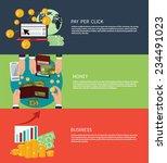 flat design concept of business ...   Shutterstock .eps vector #234491023