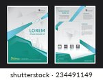brochure template design....   Shutterstock .eps vector #234491149