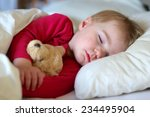 healthy child  sweetest blonde... | Shutterstock . vector #234495904