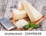 Grated Parmesan Cheese And...