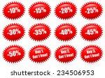 discount badges and buy 1  buy... | Shutterstock .eps vector #234506953