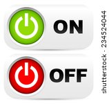 on  off power buttons