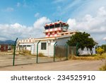 Abandoned Airport And Control...