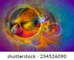modern abstract background...   Shutterstock . vector #234526090