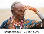 Portrait Of Senior  African...