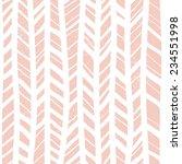 herringbone hand drawn seamless ... | Shutterstock .eps vector #234551998