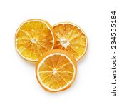 Three Dried Orange Slices From...