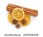 Dried Oranges With Cinnamon And ...