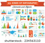 infographics elements and... | Shutterstock .eps vector #234563110