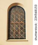 beautiful italian windows on... | Shutterstock . vector #234568153