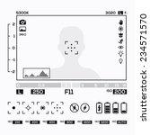 camera viewfinder display | Shutterstock .eps vector #234571570
