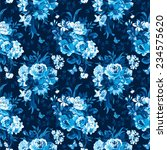 seamless vector pattern with... | Shutterstock .eps vector #234575620
