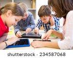 education  elementary school ... | Shutterstock . vector #234587068