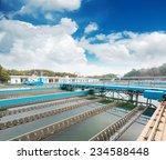 modern urban wastewater... | Shutterstock . vector #234588448