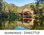 beautiful jungle lodge in the...   Shutterstock . vector #234617719