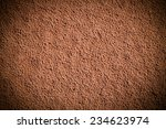 Soil Sand Surface After The...