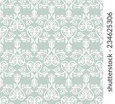 oriental  pattern with damask ... | Shutterstock . vector #234625306