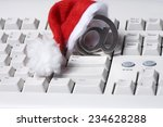 sign of e card  keyboard with... | Shutterstock . vector #234628288