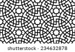 arabesque seamless black  ... | Shutterstock .eps vector #234632878