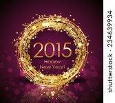 vector 2015 happy new year... | Shutterstock .eps vector #234639934