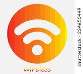 wireless   Shutterstock .eps vector #234650449