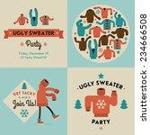 vector flat modern creative... | Shutterstock .eps vector #234666508