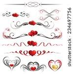 the vector illustration... | Shutterstock .eps vector #234697756