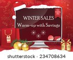Winter   Christmas Sale Poster...