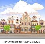 city background | Shutterstock .eps vector #234735223
